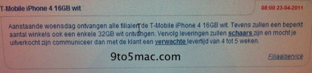 White iPhone 4 Release Date?