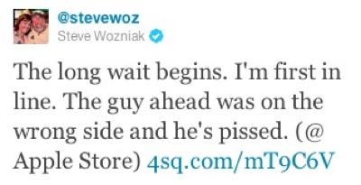 Woz Tweets